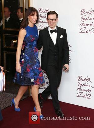 Samantha Cameron and Erdem Moralioglu The British Fashion Awards 2012 held at The Savoy - Press Room London, England -...