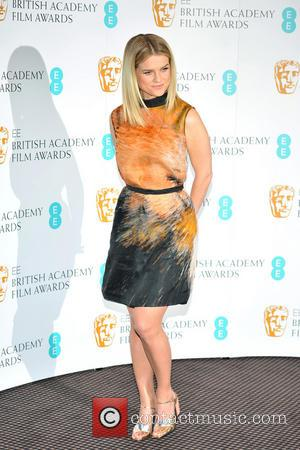 Alice Eve EE British Academy Film Awards in 2013 Nominations held at BAFTA Piccadilly  Featuring: Alice Eve Where: London,...