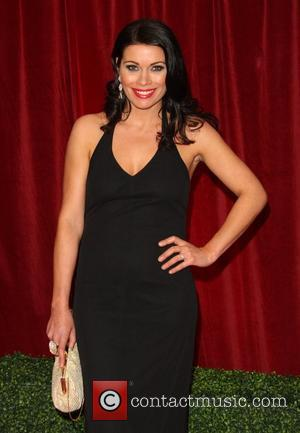 Alison King The British Soap Awards 2012 held at the London TV Centre - Arrivals London, England - 28.04.12