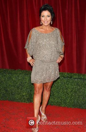 Jessie Wallace The British Soap Awards 2012 held at the London TV Centre - Arrivals London, England - 28.04.12