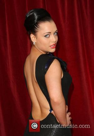Shona McGarty The British Soap Awards 2012 held at the London TV Centre - Arrivals London, England - 28.04.12
