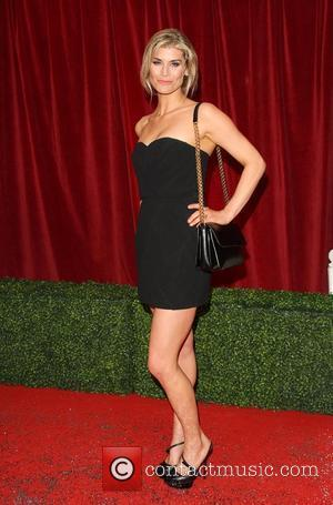 Kim Tiddy The British Soap Awards 2012 held at the London TV Centre - Arrivals London, England - 28.04.12