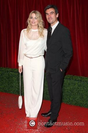 Emma Atkins and Jeff Hordley