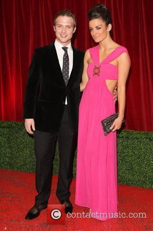 Chris Fountain and girlfriend The British Soap Awards 2012 held at the London TV Centre - Arrivals London, England -...