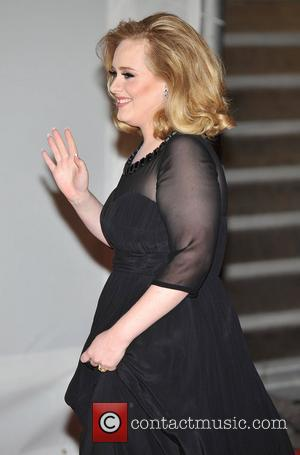 Adele The BRIT Awards 2012 at the O2 Arena - Arrivals London, England - 21.02.12