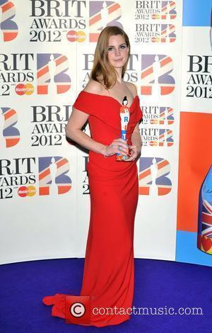 Lana Del Ray 2012 Brit Awards held at the O2 Arena - Winners Board. London, England - 21.02.12