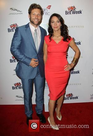 Jamie Bamber, Kerry Norton Britweek 2012 Gala hosted by Piers Morgan benefiting Children's Hospital Los Angeles held at The Beverly...
