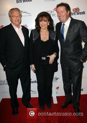 Jerry Springer, Jackie Collins and Piers Morgan
