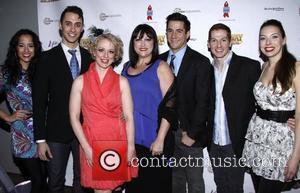 Cast and Nancy Dussault