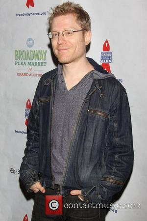 Anthony Rapp attending the 26th Broadway Cares Flea Market held in Times Square New York City, USA - 23.09.12