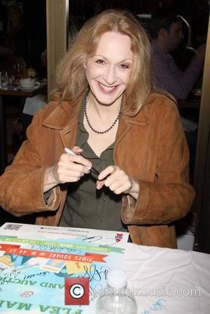 Jan Maxwell  attending the 26th Broadway Cares Flea Market held in Times Square New York City, USA - 23.09.12