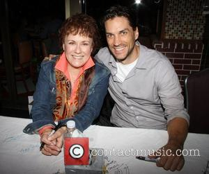 Judy Kaye and Will Swenson  attending the 26th Broadway Cares Flea Market held in Times Square New York City,...