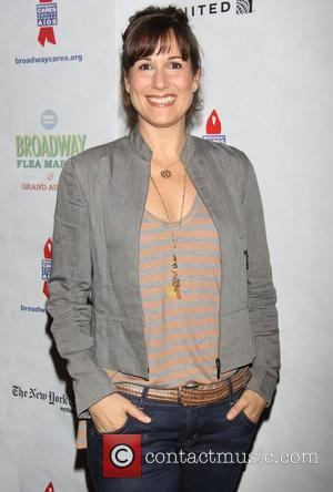 Stephanie J. Block  attending the 26th Broadway Cares Flea Market held in Times Square New York City, USA -...