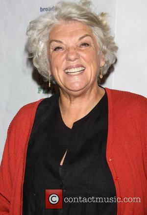 Tyne Daly and Times Square