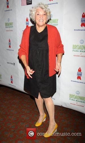 Tyne Daly  attending the 26th Broadway Cares Flea Market held in Times Square New York City, USA - 23.09.12