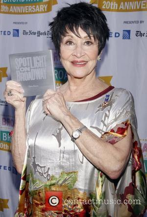 Chita Rivera  Free Concert entitled 'Broadway On Broadway', held in Times Square.  New York City, USA – 09.09.12