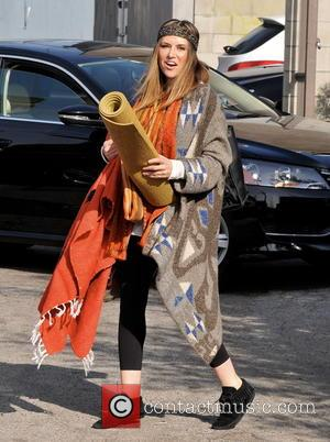 Brooke Mueller Celebrities leaving a yoga class after attending an AA meeting earlier in the day  Featuring: Brooke Mueller...
