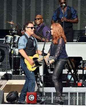 Bruce Springsteen and wife Patti Scialfa perform at The RDS  Dublin, Ireland - 17.07.12.