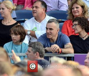 Daniel Day Lewis watches Bruce Springsteen perform at The RDS  Dublin, Ireland - 17.07.12.