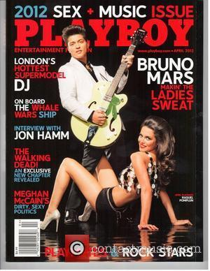 Bruno Mars becomes only the 10th man in history to grace the cover of Playboy in the April 2012 issue...
