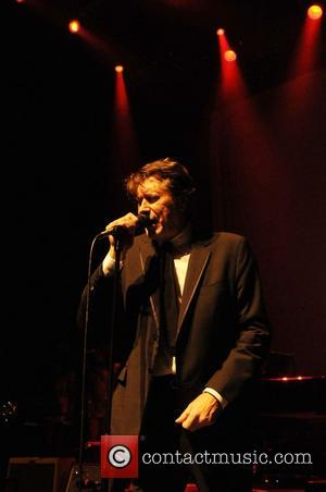 Bryan Ferry performing live at O2 Shepherd's Bush Empire. London,England - 14.12.11