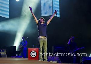 Snow Patrol perform during the 2012 BT London Live Concert in Hyde Park  London, England - 27.07.12