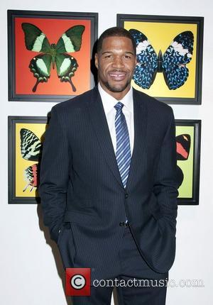 Michael Strahan Bullet-Fly Effect Art Exhibit at the Emmanuel Fremin Gallery New York City, USA - 08.11.12