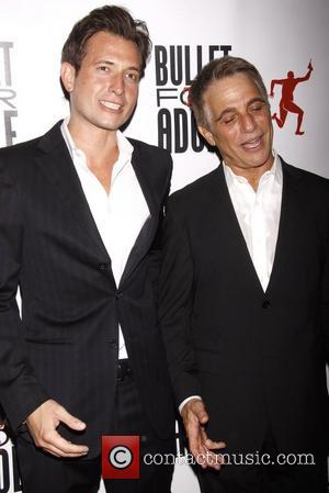 Peter Cincotti and Tony Danza  attends 'Bullet For Adolf' Off Broadway Opening Night at New World Stages- Arrivals New...