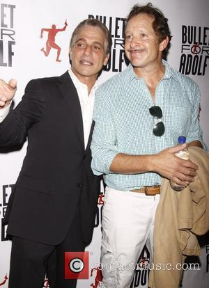 Tony Danza and Steve Guttenberg  attends 'Bullet For Adolf' Off Broadway Opening Night at New World Stages- Arrivals New...