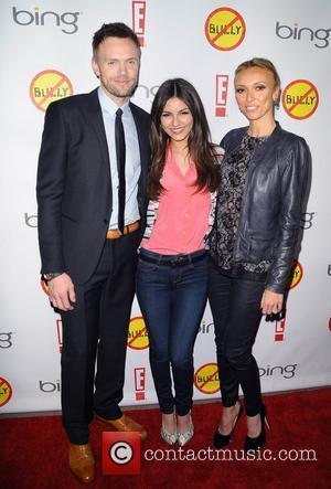 Joel Mchale, Giuliana Depandi and Victoria Justice