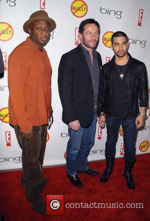Steve Harris, Jason Isaacs and Wilmer Valderrama