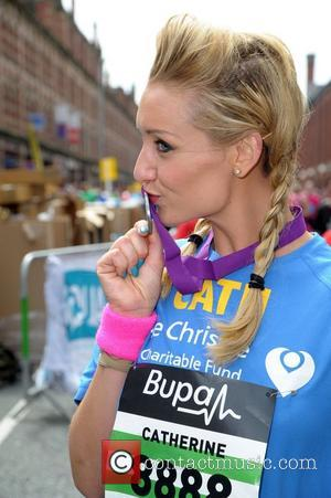 Coronation Street's Catherine Tyldesley The 2012 Bupa 10k Great Manchester Run Manchester, England - 20.05.12