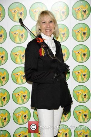 Ingrid Tarrant  'Burgess Wetnose Awards' at the Jumeriah Tower Hotel, Knightsbridge London, England - 09.03.12