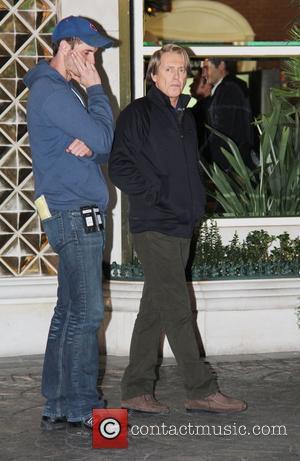 Steve Buscemi on the film set of 'Burt Wonderstone' at Freemont Street in Las Vegas Las Vegas, Nevada - 13.01.12