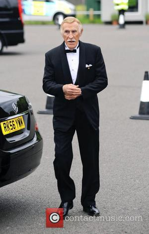 Bruce Forsyth,  atThe Diamond Butterfly Ball in aid Of Caudwell Children at Battersea Evolution. London, England - 31.05.12
