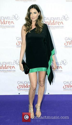 Lisa Snowdon,  atThe Diamond Butterfly Ball in aid Of Caudwell Children at Battersea Evolution. London, England - 31.05.12