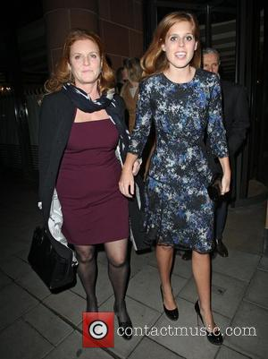 Sarah Ferguson, Duchess, York, Princess Beatrice and C London