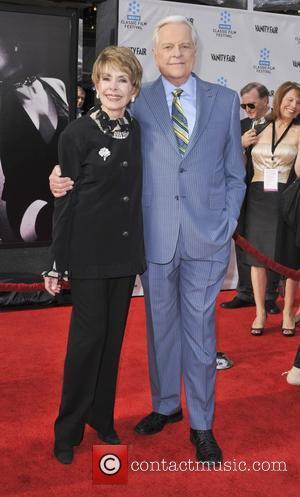 Barbara Rush and Grauman's Chinese Theatre