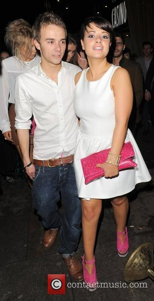 Jack P Shepherd and his fiancee Lauren Shippey leaving Cafe de Paris nightclub at 3am. London, England - 17.03.12