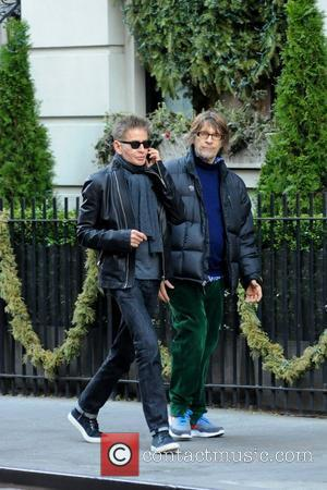 Calvin Klein out and about in Manhattan with friend New York City, USA - 07.01.12