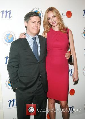 Chris Parnell and Heather Graham