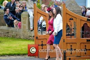 Pippa Middleton and Guests  The wedding of Camilla Hook and Sam Holland in Scotland Scotland - 19.05.12