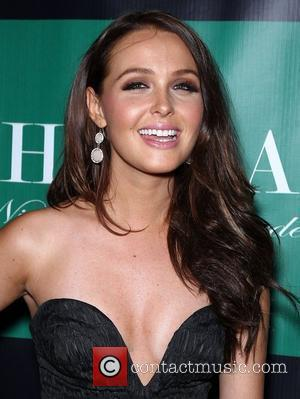 Camilla Luddington Camilla Luddington walks the red carpet at Chateau Nightclub and Gardens inside Paris Hotel and Casino  Las...