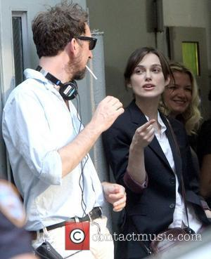 Director John Carney and Keira Knightley on the set of their new movie 'Can A Song Save Your Life?' New...