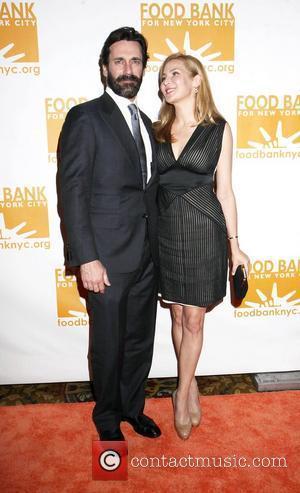 Jon Hamm, Jennifer Westfeldt and Wall Street