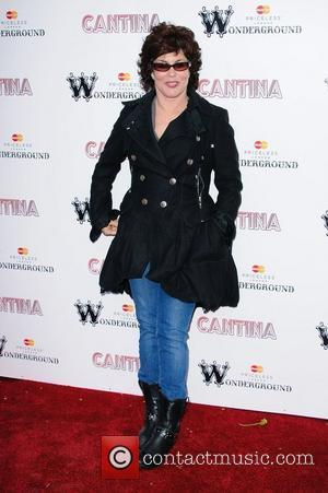 Ruby Wax 'Cantina' opening night at London Wonderground, Jubilee Gardens. London, England. 21.05.12