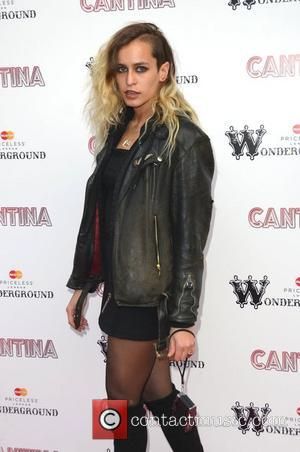 Alice Dellal Cantina opening night at London Wonderground, Jubilee Gardens - Arrivals London, England - 21.05.12