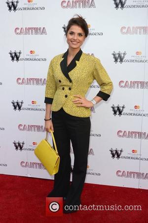 Charlotte Riley Cantina opening night at London Wonderground, Jubilee Gardens - Arrivals London, England - 21.05.12