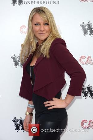 Chloe Madeley Cantina opening night at London Wonderground, Jubilee Gardens - Arrivals London, England - 21.05.12