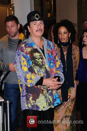 Carlos Santana and Cindy Blackman-santana